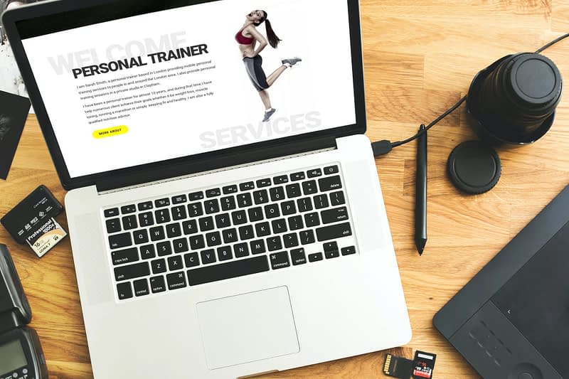 Web Design For Personal Trainers